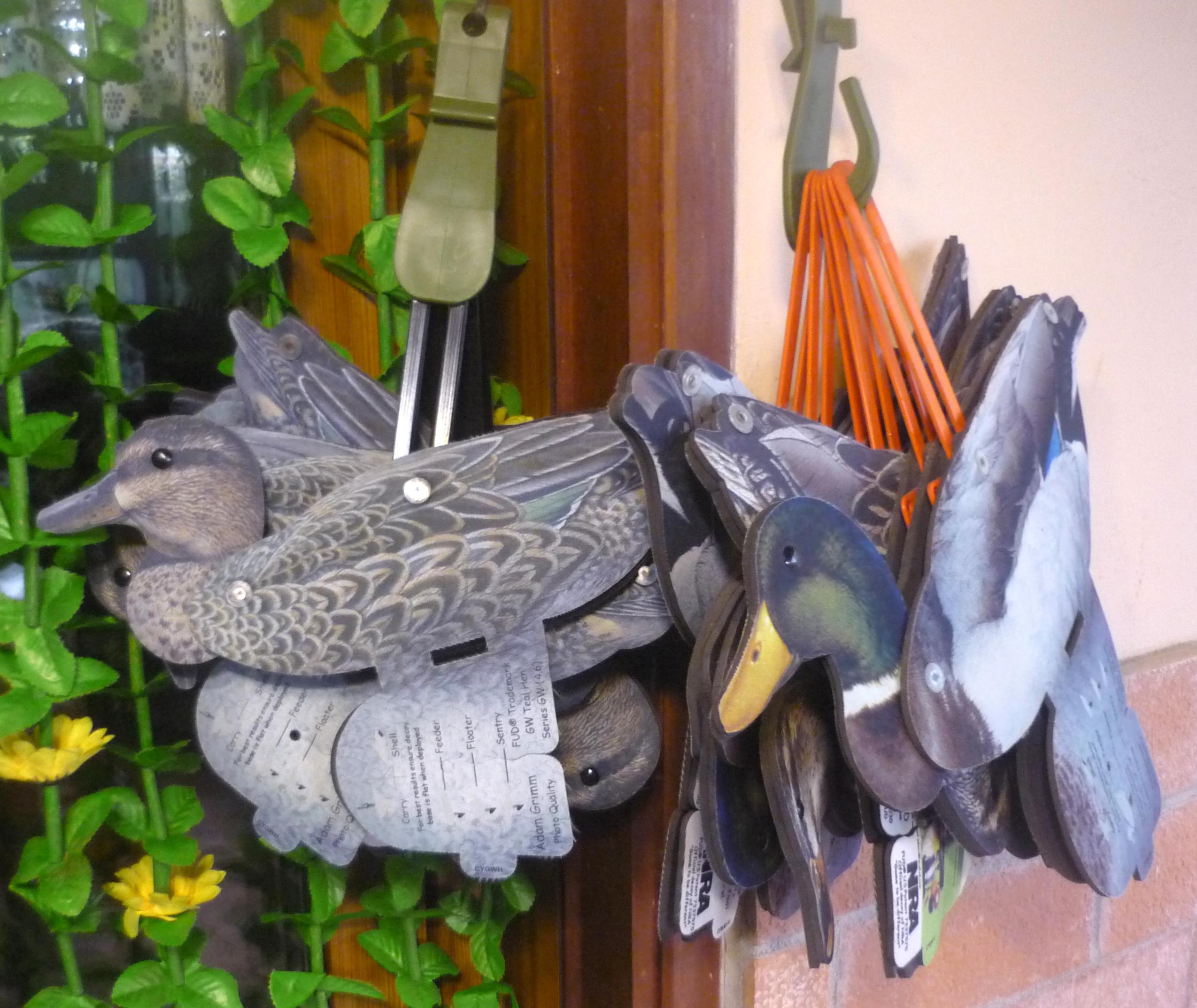 DAUERHAFT Richiamo Anatra Durevole Accessorio Cacciatore per la Chiamata
